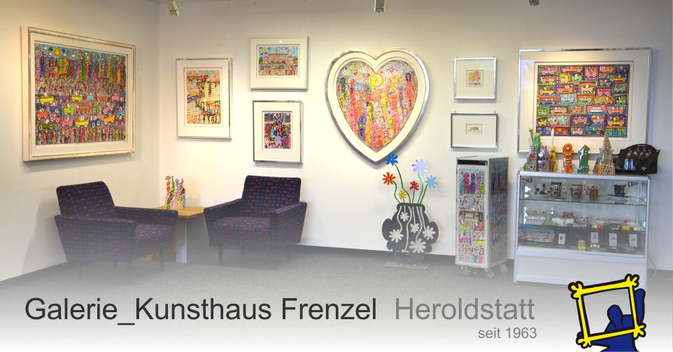 James Rizzi - Galerie Kunsthaus Frenzel