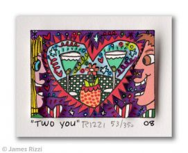 James Rizzi (3D, handsigniert)