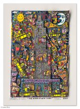 James Rizzi, handsignierte 3D-Konstruktion