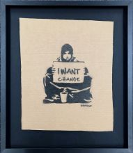 Banksy is Dismal - Pappe - I want change