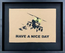 Banksy is Dismal - Pappe -  Have a nice day