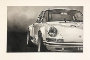 Dan Pyle - Porsche in the mist